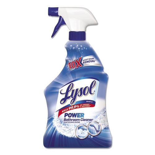 LYSOL® Brand Disinfectant Bathroom Cleaners, Liquid, 32oz Bottle
