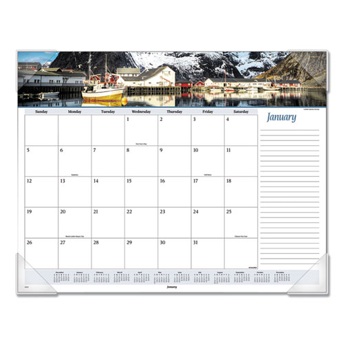 Seascape Panoramic Desk Pad, 22 x 17, 2020 | by Plexsupply