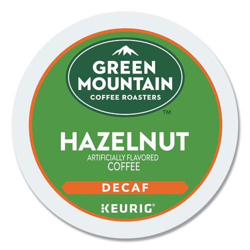 Hazelnut Decaf Coffee K-Cups, 96/Carton