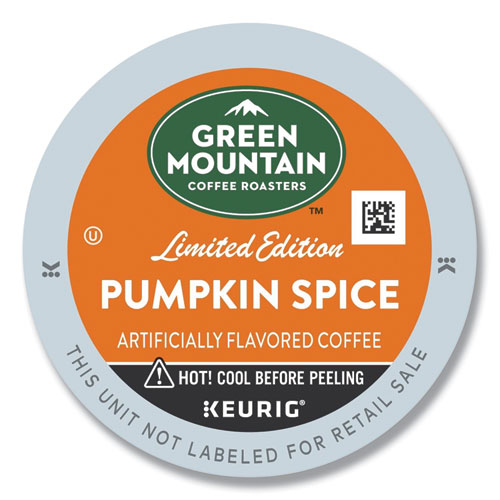 Green Mountain Coffee® Fair Trade Certified Pumpkin Spice Flavored Coffee K-Cups, 96/Carton