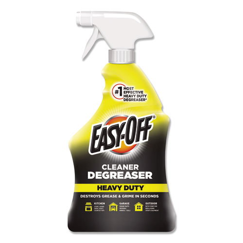 Heavy Duty Cleaner Degreaser, 32 oz Spray Bottle, 6/Carton