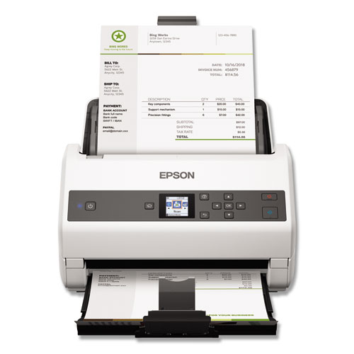 DS-870 Color Workgroup Document Scanner, 600 dpi Optical Resolution, 100-Sheet Duplex Auto Document Feeder