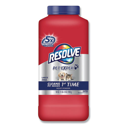 Resolve Pet Carpet Cleaner Moist Powder Fresh 18oz
