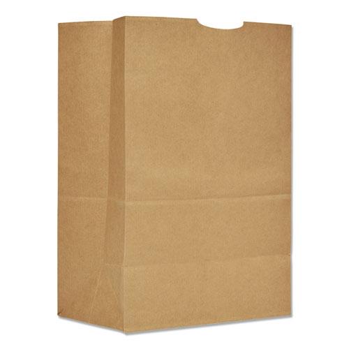 Grocery Paper Bags, 75 lbs Capacity, 1/6 BBL, 12w x 7d x 17h, Kraft, 400 Bags