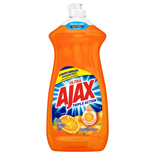 Ajax® Dish Detergent, Liquid, Orange Scent, 28 oz Bottle