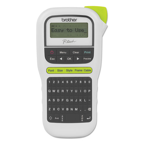 PT-H110 Easy Portable Label Maker, 2 Lines, 4.5 x 6.13 x 2.5