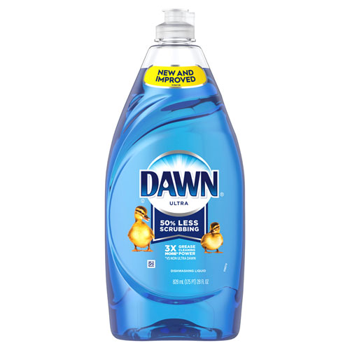 Dawn® Liquid Dish Detergent, Original Scent, 28 oz Bottle, 8/Carton