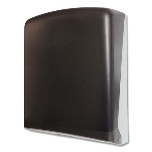 GEN Folded Towel Dispenser, 11 x 4.5 x 14, Smoke