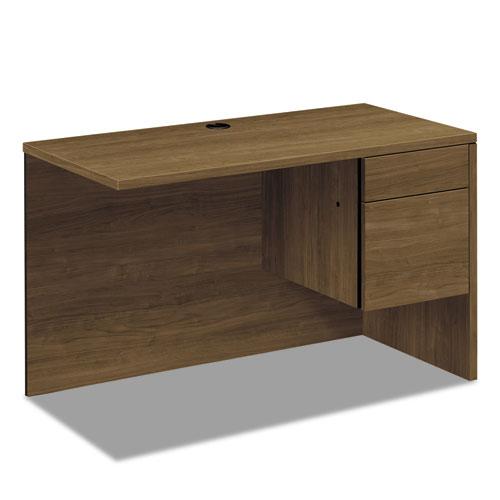 10500 Series Return Shell for Desk Shell, Right, 48w x 24d x 29 1/2h, Pinnacle