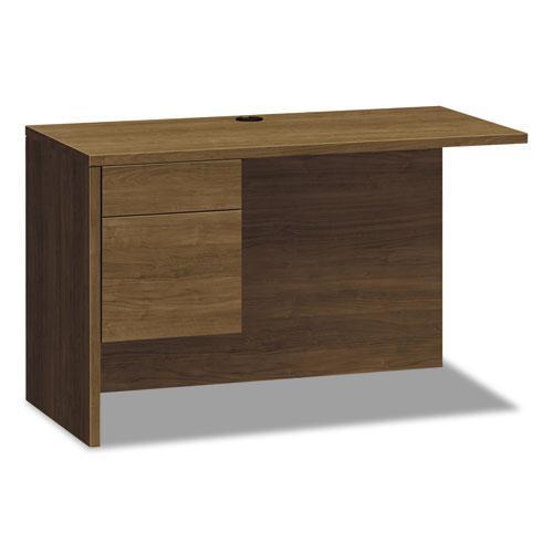 10500 Series Return Shell for Desk Shell, Left, 48w x 24d x 29 1/2h, Pinnacle
