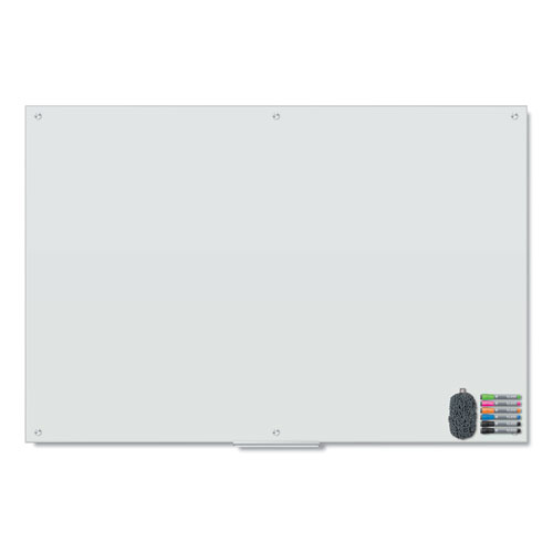 Magnetic Glass Dry Erase Board Value Pack, 72 x 48, White