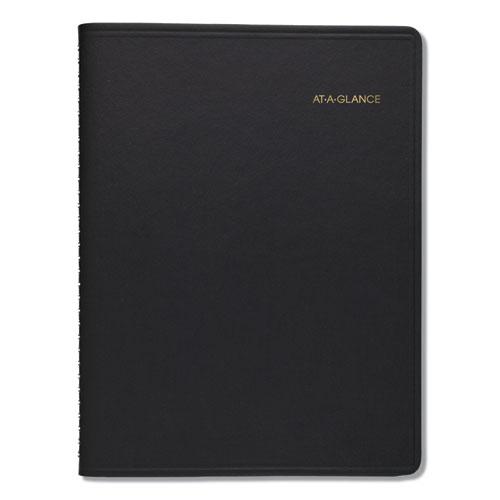 Monthly Planner, 8 7/8 x 11, Black, 2021