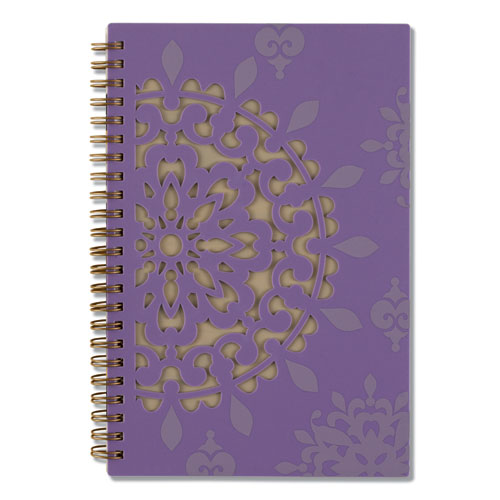 Vienna Weekly/Monthly Appointment Book, 8 x 4 7/8, Purple, 2022