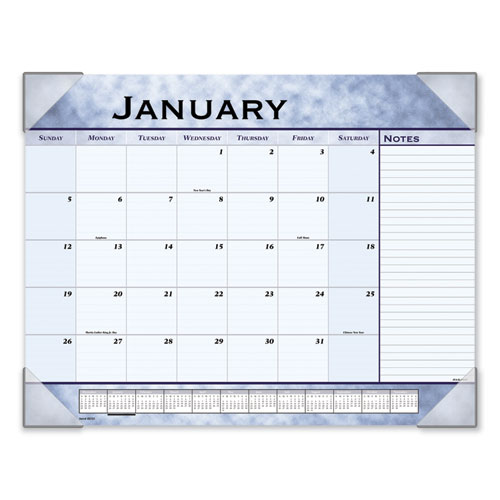Slate Blue Desk Pad, 22 x 17, Slate Blue , 2020 | by Plexsupply