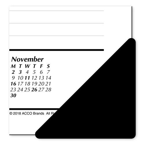 Astonishing Monthly Refillable Desk Pad 22 X 17 White 2019 Interior Design Ideas Grebswwsoteloinfo