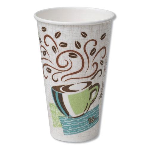 Hot Cups, Paper, 16oz, Coffee Dreams Design, 500/Carton