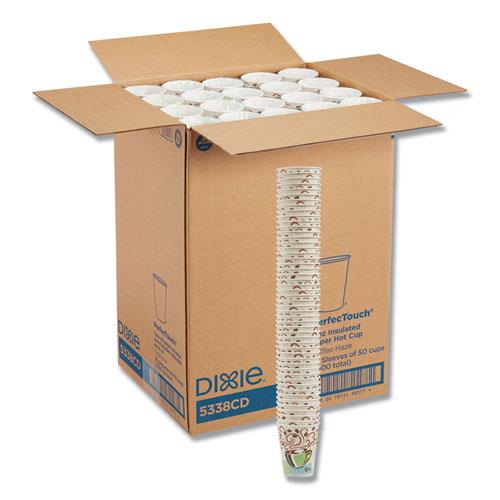 Hot Cups, Paper, 8oz, Coffee Dreams Design, 1000/Carton