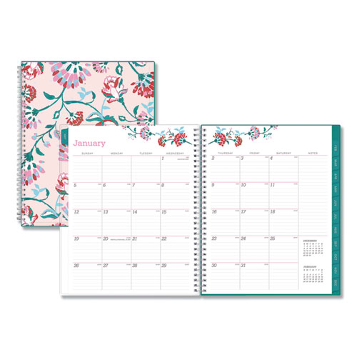 Blue Sky® Breast Cancer Awareness Weekly/Monthly Planner, 11 x 8 1/2, 2020