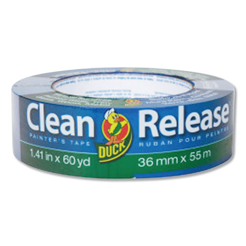 Clean Release Painters Tape, 3 Core, 1.41 x 60 yds, Blue, 16/Pack