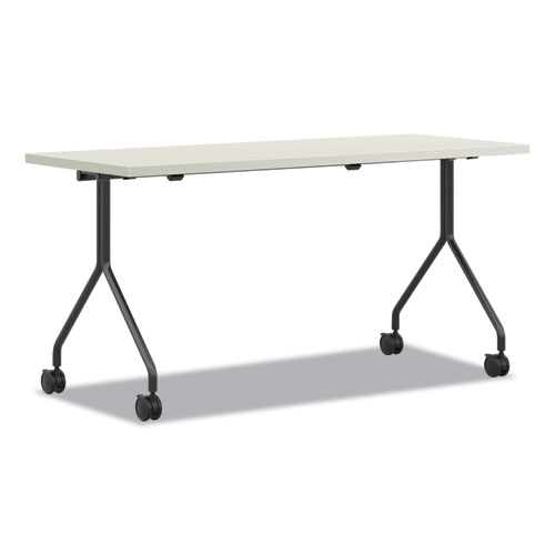 Between Nested Multipurpose Tables, 48 x 30, Silver Mesh/Loft