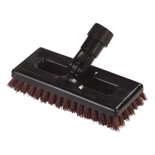 Swivel Scrub Brush, DuPont Tynex A Bristles, 8 Block, Rust, Dozen
