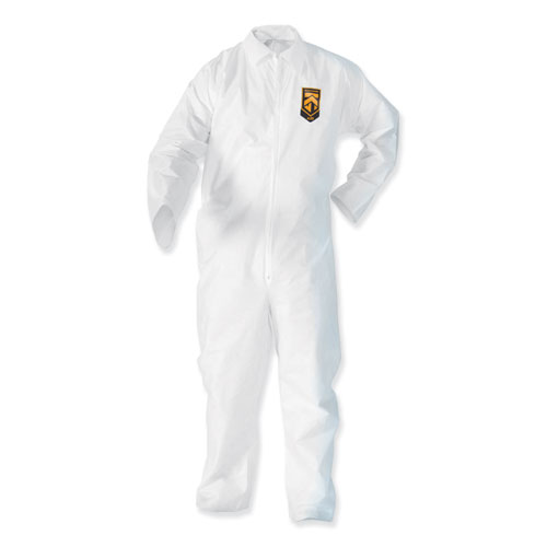 A35 Coveralls, 3X-Large, White, 25/Carton