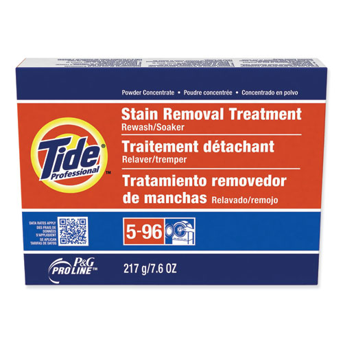 Stain Removal Treatment Powder, 7.6 oz Box, 14/Carton