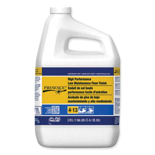 Presence High Performance Low Maintenance Floor Finish, 1 gal Bottle, 4/Carton