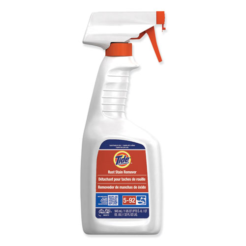 Rust Stain Remover, Peach, 32 oz Trigger Spray Bottle, 9/Carton
