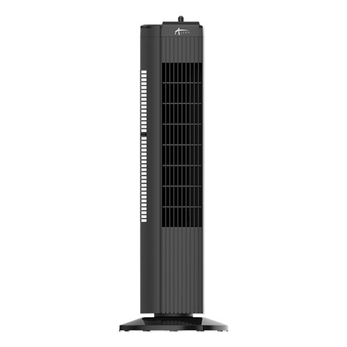 28 3-Speed Tower Fan, Plastic, Black