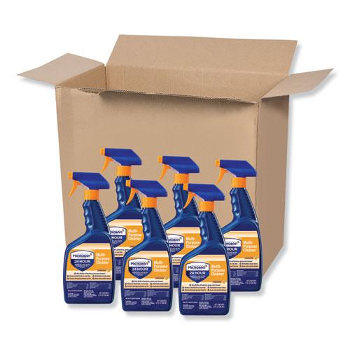 Microban® 24-Hour Disinfectant Multipurpose Cleaner, Citrus, 32 oz Spray Bottle, 6/Carton