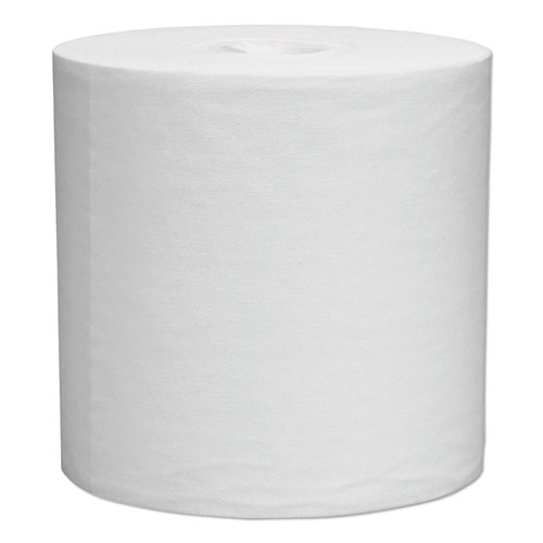 Wipers for the WETTASK System, Quat Disinfectants and Sanitizers, 12 x 12.5, 90/Roll, 6 Rolls/Carton