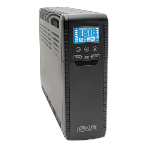 ECO Series Desktop UPS Systems with USB Monitoring, 10 Outlets, 1440 VA, 316 J