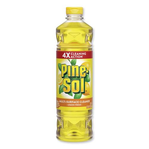 Pine-Sol® Multi-Surface Cleaner, Lemon Fresh, 28 oz Bottle, 12/Carton