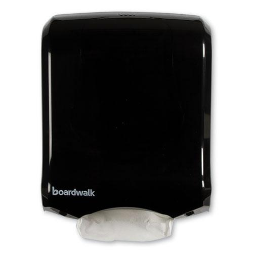 Ultrafold Multifold/C-Fold Towel Dispenser, 11.75 x 6.25 x 18, Black Pearl
