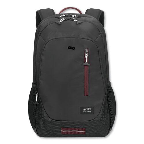 Region Backpack, For 15.6 Laptops, 13 x 5 x 19, Black