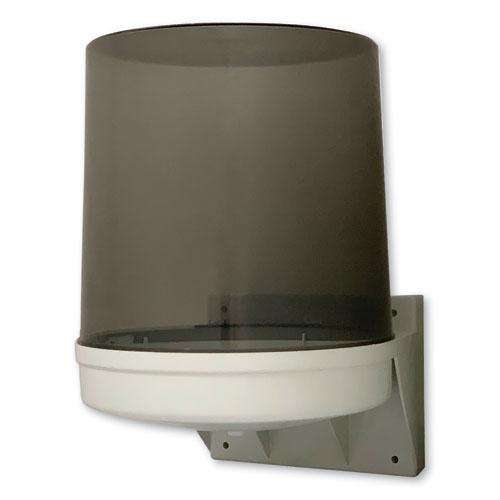 GEN Center Pull Towel Dispenser, 10.5 x 9 x 14.5, Transparent