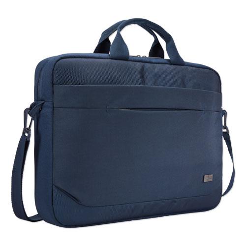Advantage Laptop Attache, For 15.6 Laptops, 16.1 x 2.8 x 13.8, Dark Blue
