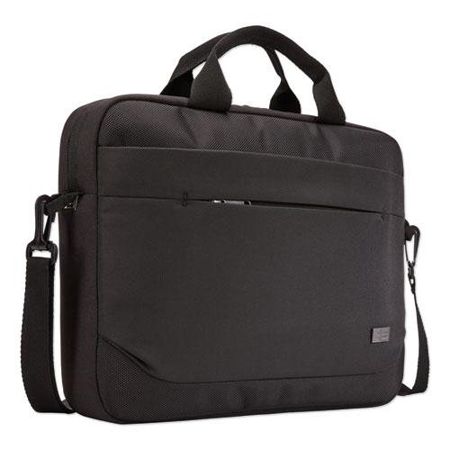 Advantage Laptop Attache, For 14 Laptops, 14.6 x 2.8 x 13, Black