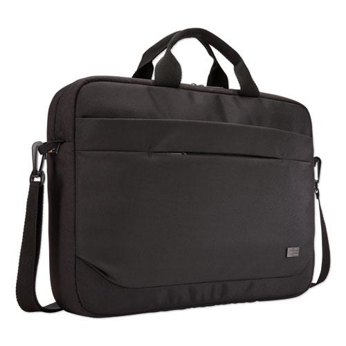 Advantage Laptop Attache, For 15.6 Laptops, 16.1 x 2.8 x 13.8, Black