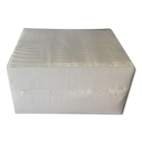 Tall Fold Dispenser Napkins, 2-Ply, 7 x 13, Kraft, 500/Pack, 20 Packs/Carton