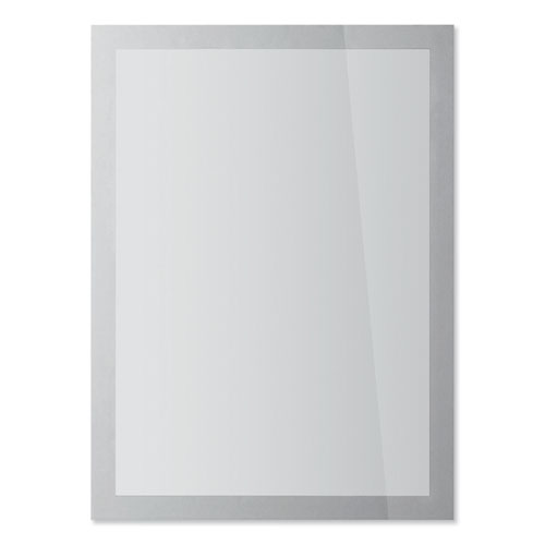 DURAFRAME SUN Sign Holder, 8.5 x 11, Silver Frame, 2/Pack