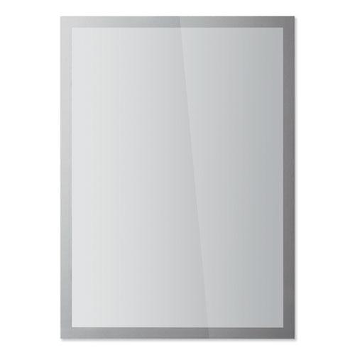 DURAFRAME SUN Sign Holder, 11 x 17, Silver Frame, 2/Pack