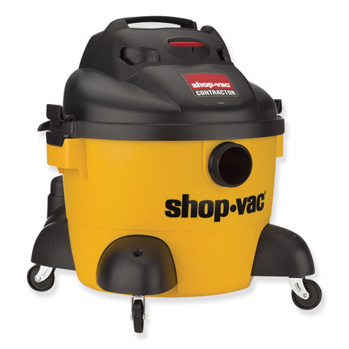 6 Gallon 3 Peak HP Portable Contractor Wet/Dry Vacuum