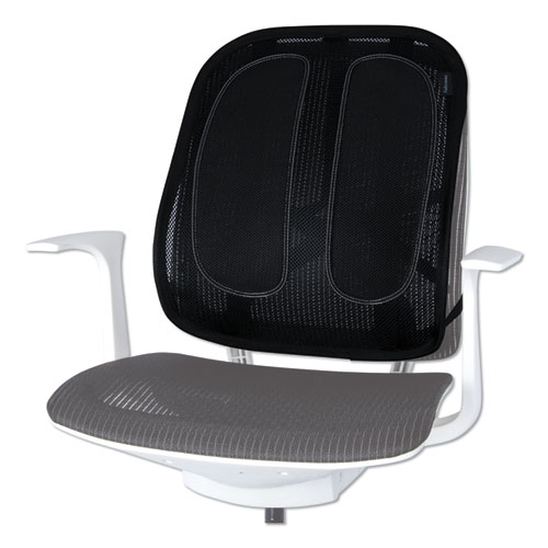 Office Suites Mesh Back Support, 17.3w x 5.56d x 20.18h, Black
