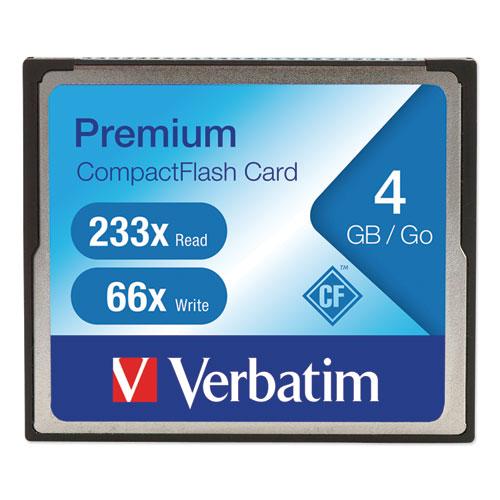 4GB 66X Premium CompactFlash Memory Card