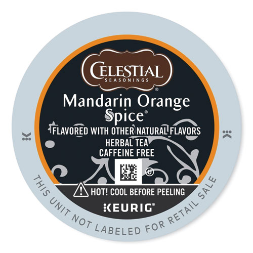 Mandarin Orange Spice Herb Tea K-Cups 24/Box