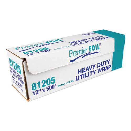Heavy-Duty Aluminum Foil Roll, 12 x 500 ft