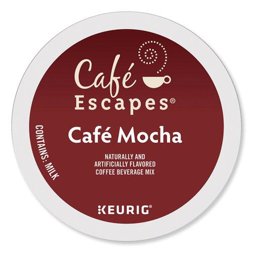Caf Escapes Mocha K-Cups, 24/Box