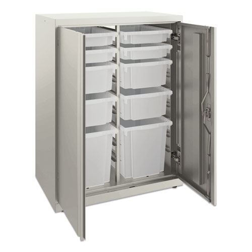 Flagship Storage Cabinet with 4 Small, 4 Medium and 2 Large Bins, 30 x 18 x 39.13, Loft
